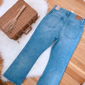 Madewell Jeans - NWT Madewell Cali Demi Boot Cut Jeans Dory